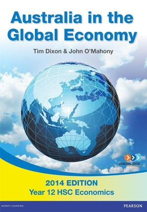 Cover of Australia in the Global Economy