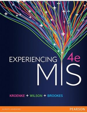 Cover of Experiencing Management Information Systems