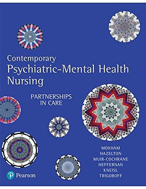 Cover of Contemporary Psychiatric-Mental Health Nursing: Partnerships in Care
