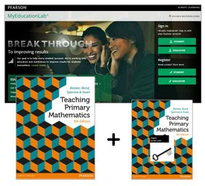 Cover of Teaching Primary Mathematics + MyLab Education with eText