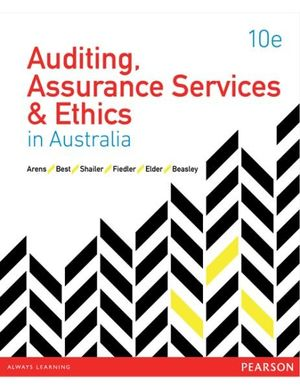 Cover of Auditing Assurance Services and Ethics in Australia