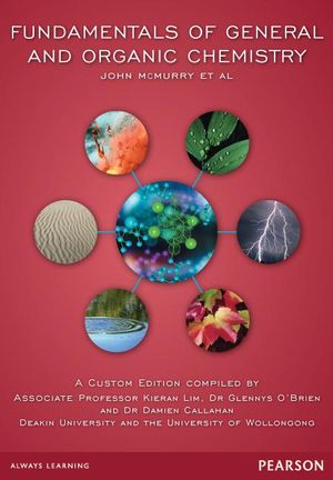 Cover of Fundamentals of General and Organic Chemistry