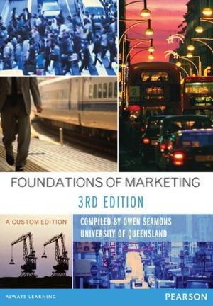 Cover of Foundations of Marketing