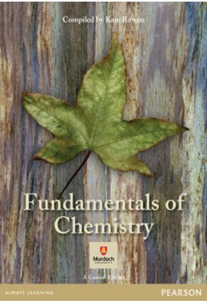 Cover of Fundamentals of Chemistry (Custom Edition)