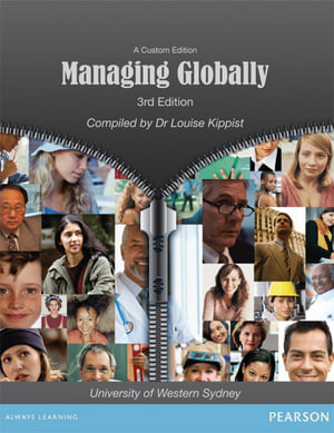 Cover of Managing Globally (Custom Edition)