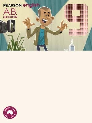 Cover of Pearson English 9 Second Edition Activity Book