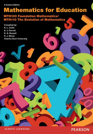 Cover of Mathematics for Education