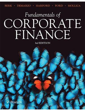 Cover of FUNDAMENTALS OF CORPORATE FINANCE BK.