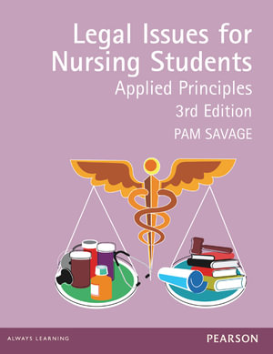 Cover of Legal Issues for Nursing Students