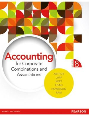 Cover of Accounting for Corporate Combinations and Associations