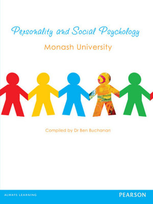 Cover of Personality and Social Psychology Custom Edition