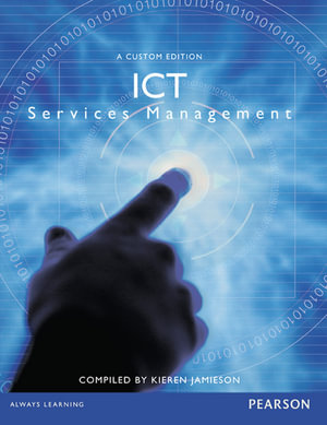 Cover of ICT Services Management (Custom Edition)
