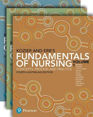 Cover of Kozier 4e Fund Nursing_PK