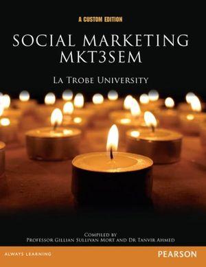 Cover of Social Marketing MKT3SEM (Custom Edition)