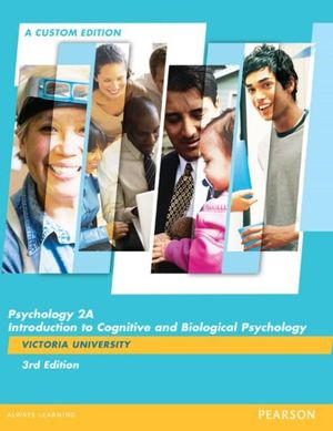 Cover of Psychology 2A (Custom Edition)
