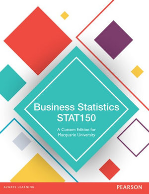 Cover of Business Statistics STAT150