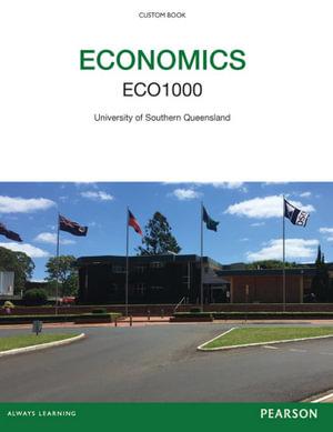 Cover of Economics: ECO1000 Custom Book