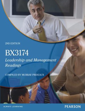 Cover of Leadership and Management Readings (Custom Edition)