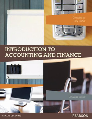 Cover of Introduction to Accounting and Finance (Custom Edition)