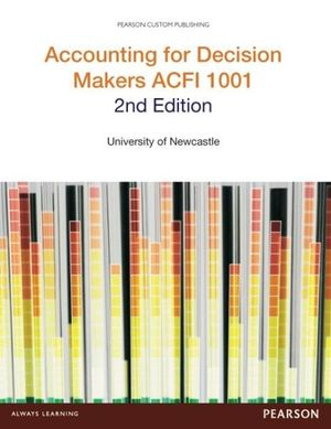 Cover of Acc for Decision Makers ACFI 1001 CB
