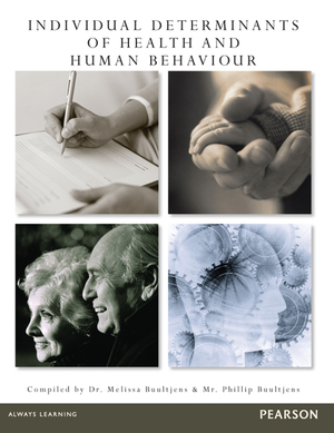 Cover of Individual Determinants of Health and Human Behavior (Custom Edition)