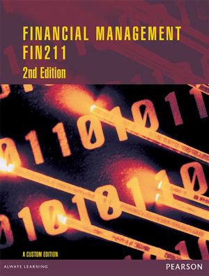 Cover of Financial Management FIN211 CB