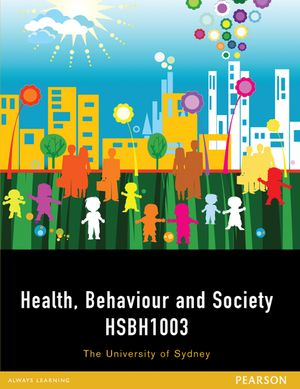 Cover of Health, Behaviour and Society HSBH1003 (Custom Edition)