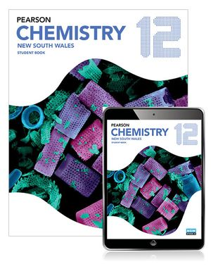 Cover of Pearson Chemistry 12 New South Wales