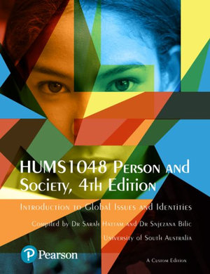 Cover of HUMS1048 PERSON AND SOCIETY (CUSTOM EDITION).