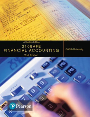 Cover of Financial Accounting 2108AFE (Custom Edition)