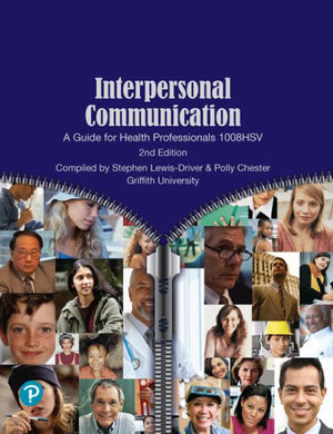Cover of Interpersonal Communication: a Guide for Health Professionals 1008HSV (Custom Edition)
