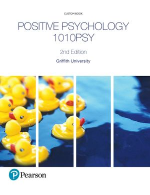 Cover of Positive Psychology 1010PSY (Custom Edition)