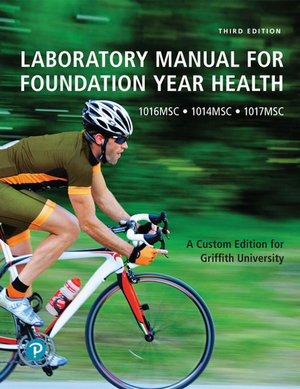 Cover of LABORATORY MANUAL FOR FOUNDATION YEAR HEALTH (CUSTOM EDITION).