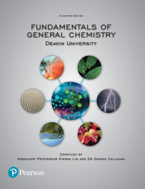 Cover of FUNDAMENTALS OF GENERAL CHEMISTRY (CUSTOM EDITION).