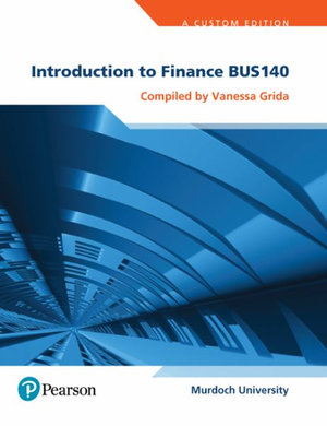 Cover of Introduction to Finance BUS140 (Custom Edition)