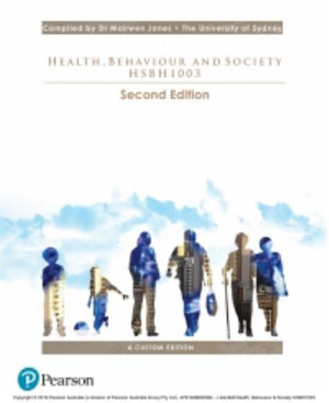 Cover of Health, Behaviour and Society (Custom Edition)