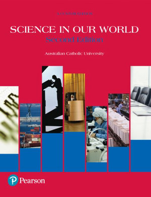 Cover of SCIENCE IN OUR WORLD (CUSTOM EDITION).