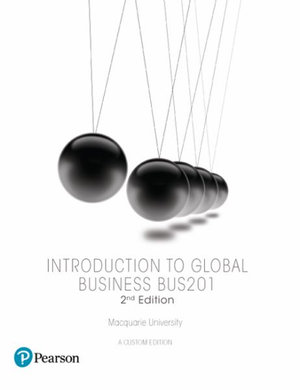 Cover of Introduction to Global Business BUS201