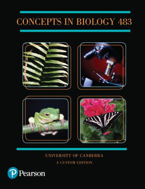 Cover of Concepts in Biology 483 (Custom Edition)