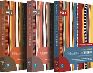 Cover of Kozier and Erb's Fundamentals of Nursing, Volumes 1-3