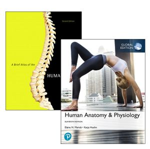 Cover of Human Anatomy & Physiology, Global Edition + A Brief Atlas of the Human Body