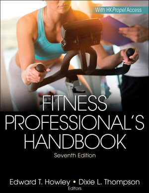 Cover of Fitness Professional's Handbook 7th Edition