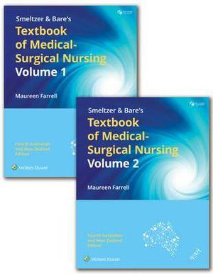 Cover of Smeltzer & Bares Textbook of Medical-surgical Nursing