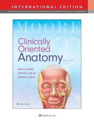 Cover of Clinically Oriented Anatomy Int Ed
