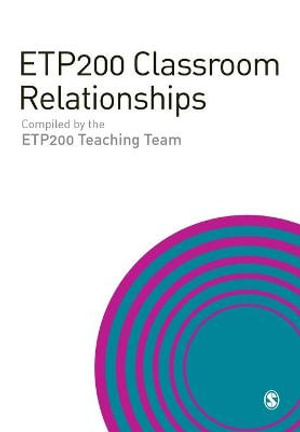 Cover of ETP200 Classroom Relationships
