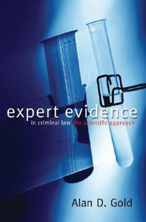 Cover of Expert Evidence in Criminal Law