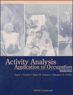 Cover of Activity Analysis