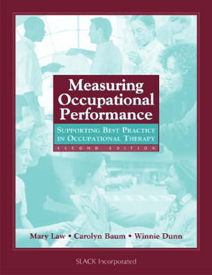 Cover of Measuring Occupational Performance