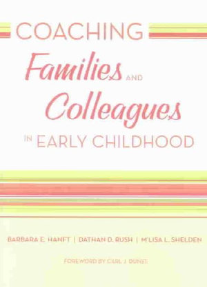Cover of Coaching Families and Colleagues in Early Childhood