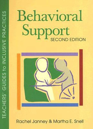 Cover of Behavioral Support